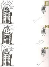FDC BBC 75th Anniversary Signed First Day Covers  Autographed  Actors Commentor