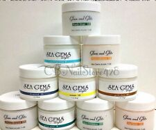 Glam & Glits - SEA GEMS Acrylic Collection of 25 Shades 1oz ~SHIP IN 24H