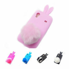 Selectable Bunny Cute Rabbit TPU Skin Case Cover for Samsung Galaxy Ace S5830