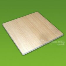 Square Wooden Wood Craft Blank Choose Size & Quantity for pyrography or decorate