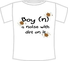 Boy's T-Shirt with definition of a boy design.Graphic, printed t-shirt