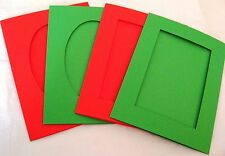 Aperture cards Christmas  88 x 114mm 3 fold with env MIXED PACKS YOU PICK