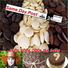 Luxurious Chocolate Fountain Buttons 250 500  700g For Celebrations and Parties