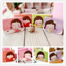 4 Colors Cute Business ID Credit Card Holder Case Wallet Pocket (D-Style)