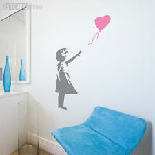 Banksy Balloon Girl Reusable Wall STENCIL Graffiti Street Art The Stencil Studio