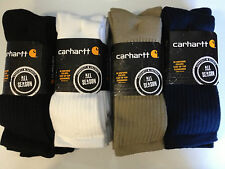 Carhartt A3208 - Work Wear Cushioned Crew Sock - 3-PACK - ALL COLORS -