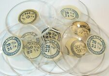 NOS 20 Ligne sizes Glass Crystals for Open Face Pocket Watches