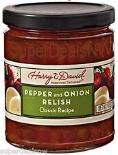 Harry & David ~Pepper and Onion Relish (10oz) - Classic Recipe~Jelly~ FREE SHIP