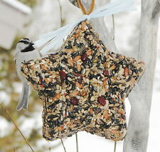 BIG STAR - Bird Seed Feeder - Organic - Wreath