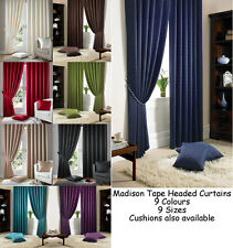 Luxury Jacquard Pencil Pleat Ready Made Lined Curtains