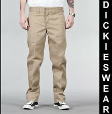 DICKIES 873 Slim Straight Work Pant lange Hose Khaki kh O-Dog