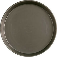 """BLACK IRON PIZZA PANS 1.5"""" DEEP FOR DEEP BASE PIZZA PROFESSIONAL QUALITY"""