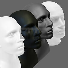 MALE MANNEQUIN DISPLAY HEADS