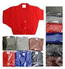 Knitted School Cardigans age 3 -13+  NEW School uniform unisex TOP Quality cardi