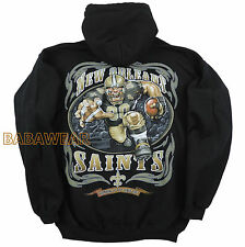 Saints Running Back Pullover Hoody NFL New Orleans Football Hoodie BABA