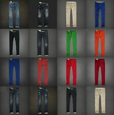 NWT ABERCROMBIE & Hollister MEN'S Jeans, color Jeans, Chinos Pants