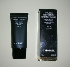 Chanel Double Perfection Creme Poudre, 35ml, New in Box, Various Shades