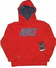 NIKE HOODIE BOYS THERMA FIT YOUTH STAY WARM ATHLETIC SPORT PULL OVER JACKET COAT