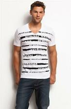 New Armani Exchange A|X Mens Slim/Muscle Fit Graphic Blinds Tee Shirt