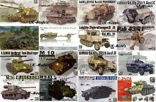 AFV Club - 1/35 WWII Tanks & Military Vehicles