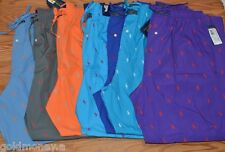 Polo Ralph Lauren Men Pajamas Lounge Pants Sleepwear Pony All Over S M L XL New
