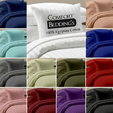 "Brand New 15 Color in Solid(Plain)1000tc 100%Egyptian Cotton 15""DP 4pc sheet Set"