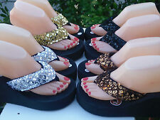 Sexy Sequin Wedges Sandals For Women Many Sizes And Colors.