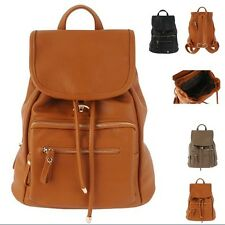 women fashion backpack faux leather retro satchel daypack travel tablet sale hot