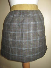 JOULES Ditton Green Check Tweed Skirt Sz 12 FreeUKP&P RRP£64.95