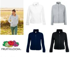 Fruit of the Loom Women's-Fit Sweat Jacket All Sizes
