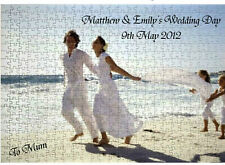 Personalised Wooden Jigsaw Puzzle Add you own Photo and Message FREE - GIFT