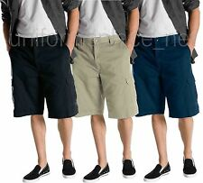 "13"" Cargo Shorts Dickies Work Short Loose fit Cotton 43214 Black Khaki Navy"