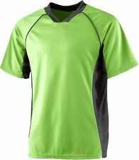 Augusta Sportswear Men's Soccer Moisture Wicking V Neck Jersey T-Shirt. 243