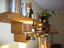(NEW)The Old Country Farmhouse Giant Wine Rack~ALL SIZES~Edwardian Cast Brackets