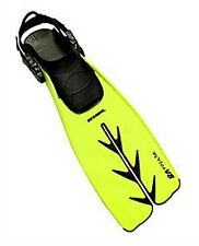 Oceanic V8 Split Strap Scuba Diving Fins - YELLOW - NEW