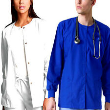Medical Nursing Dental Warm up Jackets XS S M L XL 2XL 3XL sizes Women's Men's