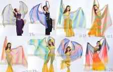 "FI# Belly Dance Gradient Imitated Silk Shawl Veil 13 colours 98.5*47""/250*120cm"