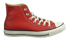 Converse Ct Hi Men's Fashion Sneakers Leather Red 136579c