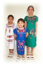 PUEBLA Dress Mexico Girls Child Costume 3 Colors - YOU PICK - SIZE 6 Sweet!