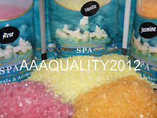 LUXURY PURE RICH DEAD SEA SALT WITH JASMIN/ROSE/VANILLA /LAVENDER/APPLE-GIFT!