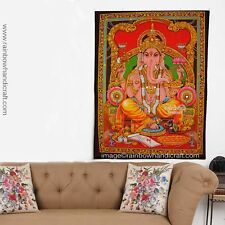 Ganesh wall hanging hindu elephant god Ganesh sequin tapestry decor ethnic art