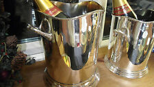 NEW Wine/Champagne Ice Bucket ~ Silver Plated ~ Wine Cooler ~  Louis Roederer ~