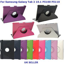 360 Degree Rotating Cases Covers Stand For Samsung Galaxy Tab 2 10.1 P5100 P5110