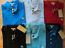 NWT Burberry Brit Men's Classic Fit Polo Shirt Tee-S, M, L, XL, XXL, Authentic