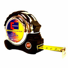 """CONSTRUCTOR""  Heavy Duty Measuring Tape 25"" ft  Thumb Lock  Free Shipping"
