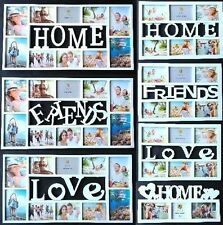 3D Home Friends Love Fotos Bilderrahmen Bilder Fotorahmen Collage Fotogalerie