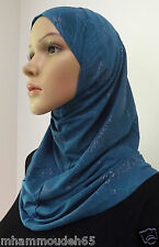 Best Quality Hijab Amira 2 Piece Fancy Pattern HeadScarf  in Many Colors