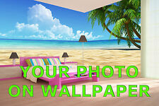 Your Photo on WALLPAPER - Custom sizes to fit your wall perfectly. Any image!