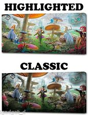 4 Sizes- ALICE IN WONDERLAND Disney HD CANVAS PRINT Home Wall Decor Art Giclee
