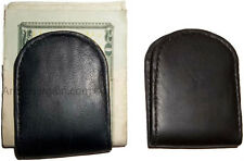 Leather money clip magnetic money clip bills holder all monies holder Brand New